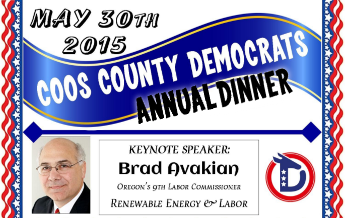 Coos County Democrats Annual Dinner 2015