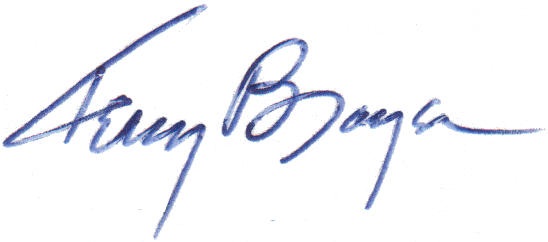 Terry Brayer Signature